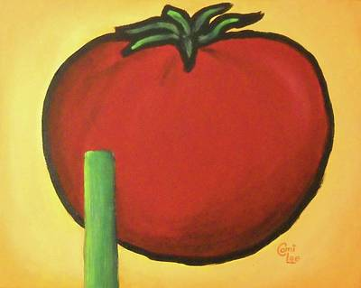Big Red Tomato Art Print