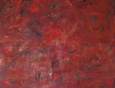 Wall Art - Painting - Big Red by Wayne Pearce