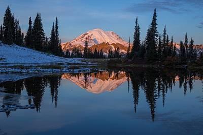 Photograph - Big Reflection by Lynn Hopwood