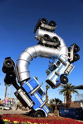 Photograph - Big Rig Jig Balancing In Vegas by Brandy Little