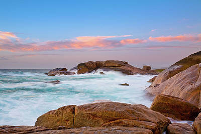 Photograph - Big Rocks, Slopey Rocks, Margaret River by Dave Catley