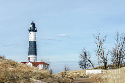 Photograph - Big Sable Point Lighthouse And Tower by Sue Smith