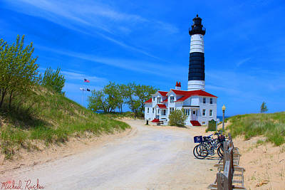 Photograph - Big Sable Point Lighthouse by Michael Rucker