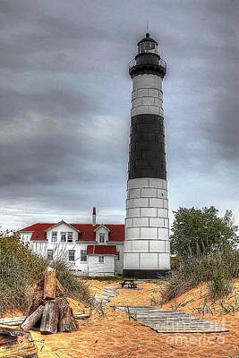 Photograph - Big Sable Point by Randy Pollard