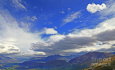 Photograph - Big Sky And Mountains by Nareeta Martin