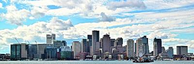 Big Sky Boston Pano Art Print by Frozen in Time Fine Art Photography