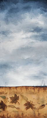 Mixed Media - Big Sky by Carolyn Doe