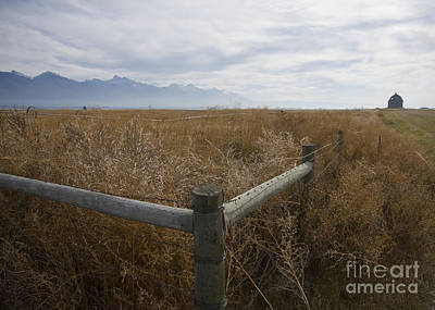 Photograph - Big Sky Corner Post by Idaho Scenic Images Linda Lantzy