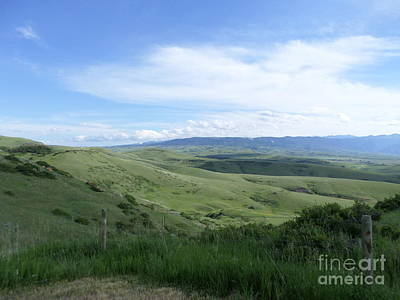 Photograph - Big Sky Country by Kay Novy