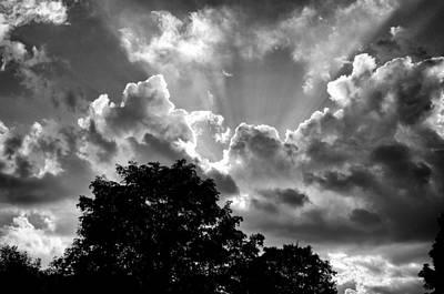 A Summer Evening Photograph - Big Sky Ohio by Frank Staigl III