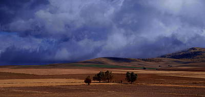 Photograph - Big Sky On The Road To Anatolia by Jacqueline M Lewis