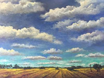 Painting - Big Sky by Randy Burns