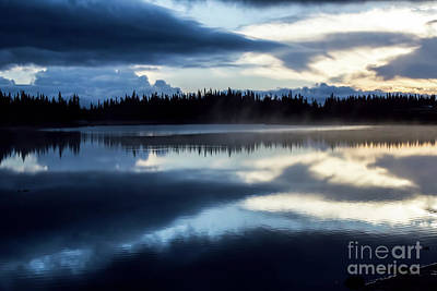 Photograph - Big Sky Reflections by Steven Parker