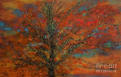 Bigsky Painting - Big Sky Sunset by Dennis Haugan