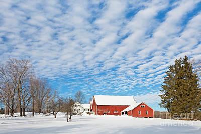 Photograph - Big Sky Winter by Alan L Graham