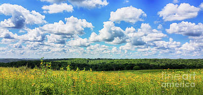 Photograph - Big Sky -wisconsin -color by Ricky L Jones