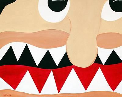 Big Smile Print by Sal Marino