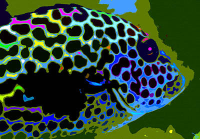 Painting - Big Spotted Fish by David Lee Thompson