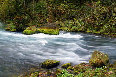 Stream Lanscape Photograph - Big Spring Branch by Marty Koch