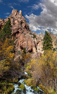 Photograph - Big Spring In Sheep Creek Canyon by Kathleen Bishop