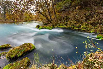 Ozark National Riverways Photograph - Big Spring Swirl by Jackie Novak