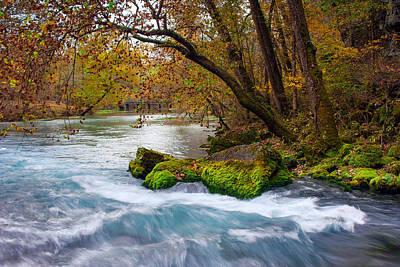 Ozark National Riverways Photograph - Big Spring Waters by Jackie Novak