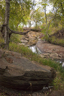 Big Stone Creek Art Print