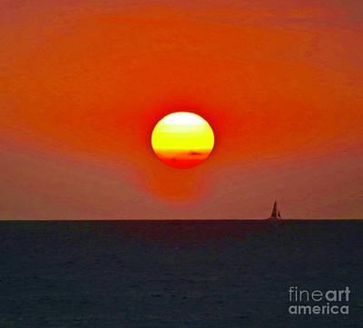 Big Sun Art Print