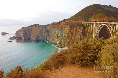 Photograph - Big Sur by Alice Mainville