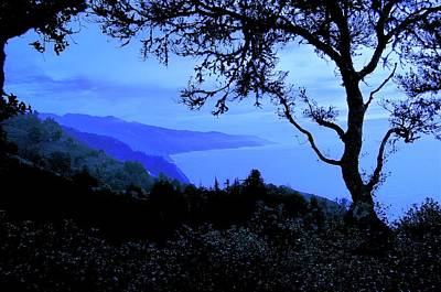 Photograph - Big Sur Blue, California by Flying Z Photography by Zayne Diamond