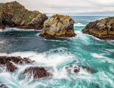 Photograph - Big Sur Blue by Jonathan Nguyen