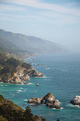Photograph - Big Sur Coast by Digartz - Thom Williams