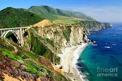 Photograph - Big Sur Coast by Frank Townsley