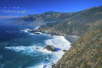 Photograph - Big Sur Coast Overview by John Burk