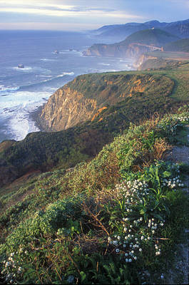 Photograph - Big Sur Coast Vista by John Burk