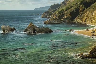 Photograph - Big Sur Coastal 8b5339 by Stephen Parker