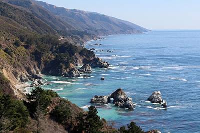 Photograph - Big Sur Coastline - 3 by Christy Pooschke