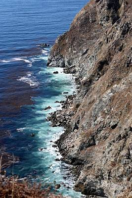 Photograph - Big Sur Coastline - 5 by Christy Pooschke