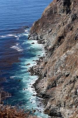 Photograph - Big Sur Coastline - 5 by Christy Pooschke