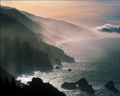Big Sur Coastline Ca Usa Art Print by Panoramic Images
