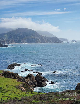 Photograph - Big Sur Coastline, California  #30325 by John Bald