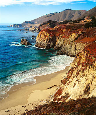 Photograph - Big Sur Coastline California by Douglas Pulsipher