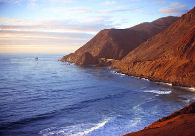 Photograph - Big Sur Coastline California by Utah Images