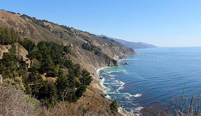 Photograph - Big Sur Coastline - 2 by Christy Pooschke