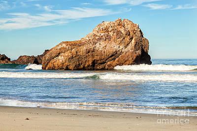 Photograph - Big Sur by David Millenheft