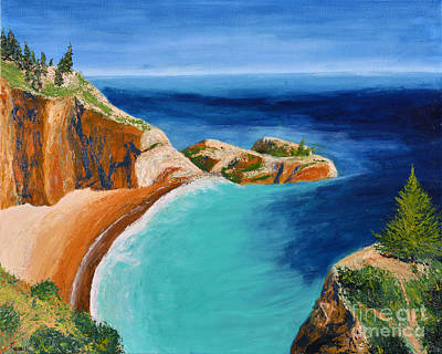 Painting - Big Sur by Jack Hedges