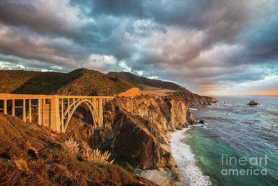 Of Big Sur Beach Photograph - Big Sur by JR Photography