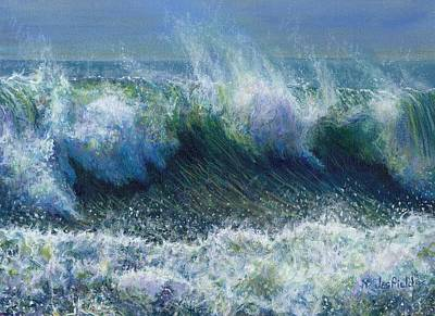 Painting - Big Sur by LeRoy Jesfield