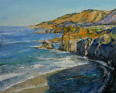 Impressionistic Landscape Painting - Big Sur by Michael Creese