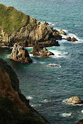Photograph - Big Sur Ocean Landscape by Renee Hong